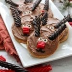 Rudolph the Red Nose Reindeer Cookies