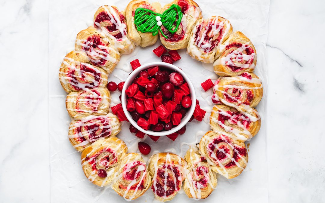 Red Vines Danish Wreath