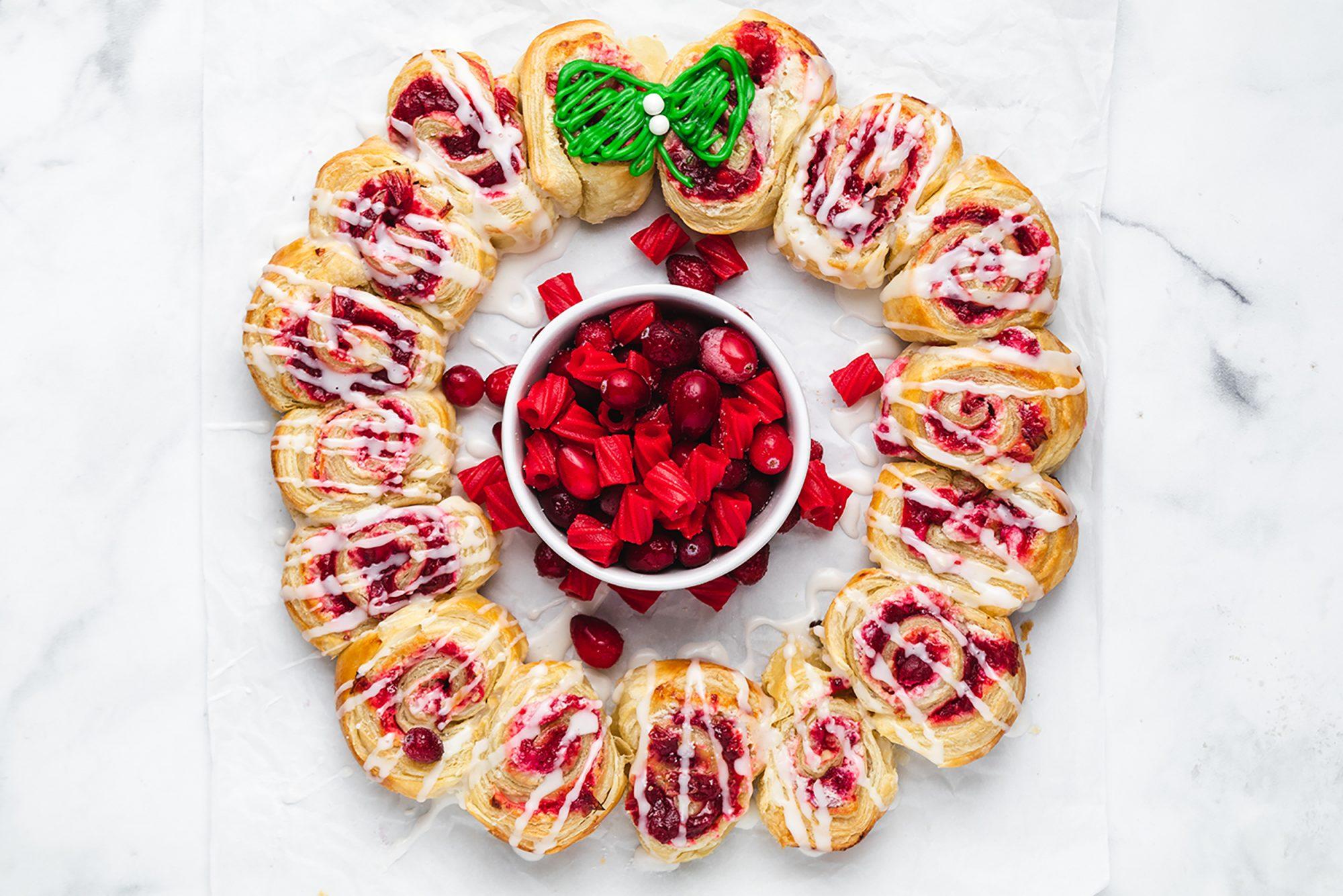 Red Vines Danish Wreath