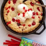 Red Vines Giant Skillet Cookie