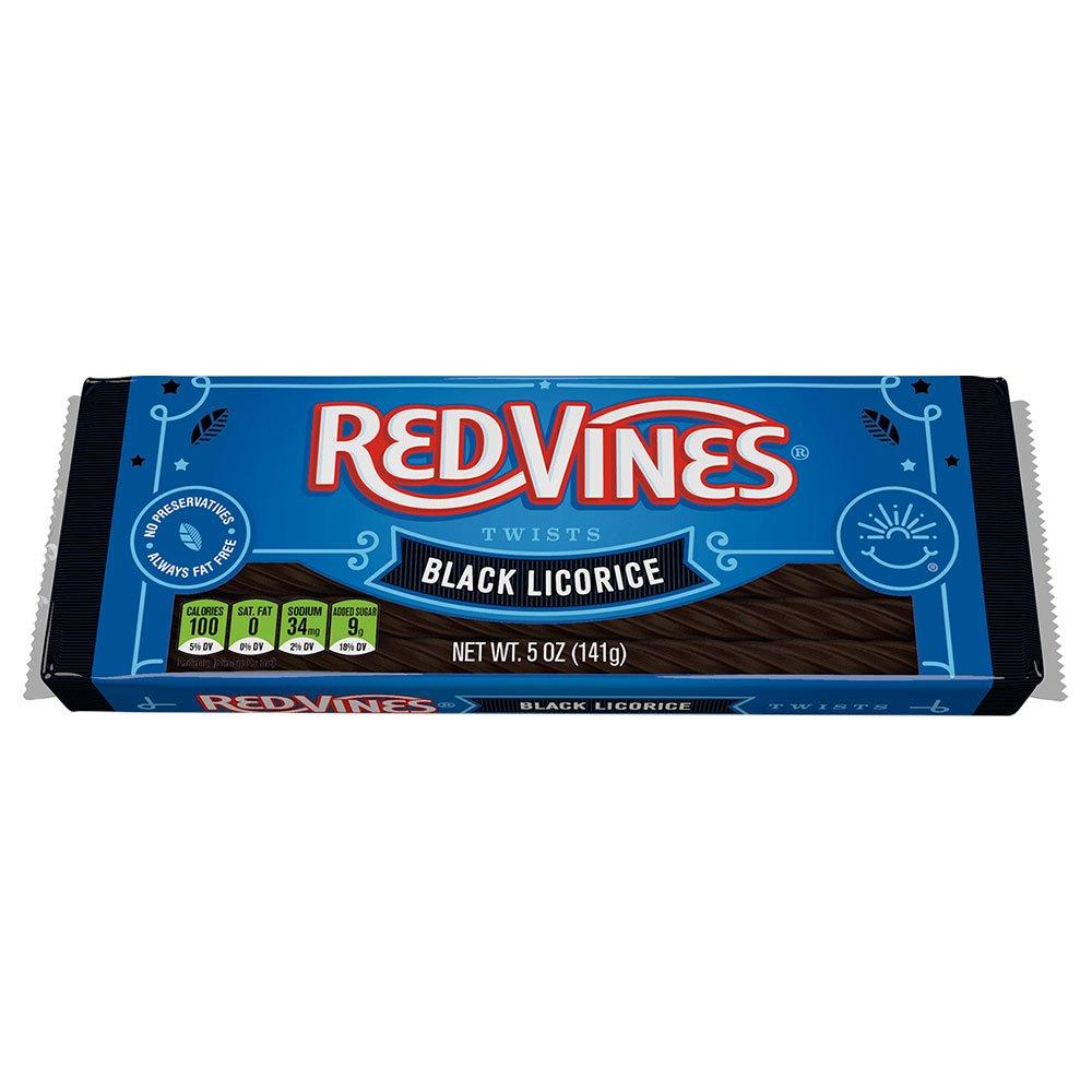 Red Vines Black Licorice 5oz Tray